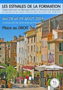 Les estivales de la formation Aix-en-Provence et Marseille - intervention avocat spécialisé droit des successions et héritage